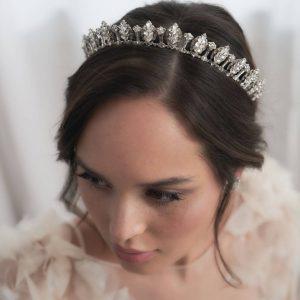 lucy bridal crown_maria elena headpieces_Mt 13-15-s_model